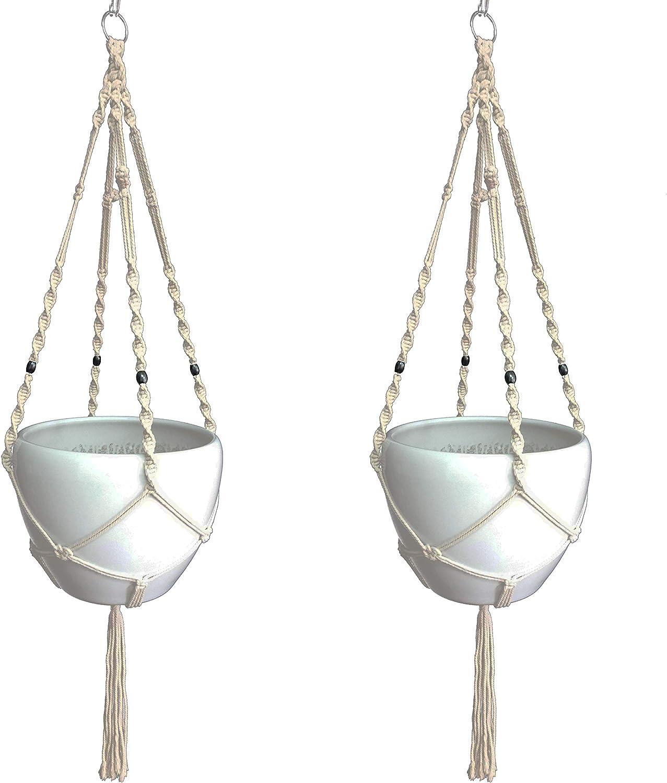 Macrame Plant List price Hanger Hanging Planter Outdoor Cotton Austin Mall Jut Indoor
