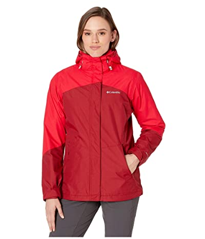 Columbia Bugabootm II Fleece Interchange Jacket (Beet/Red Lily/Red Lily) Women