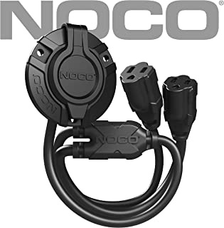 NOCO GCP2 15 Amp 125V AC Port Plug with Dual 18-Inch Integrated Extension Cords