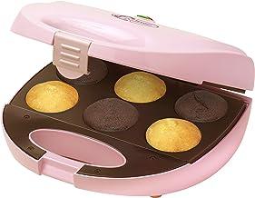 Bestron Appareil à Cupcake Compact 750 W Rose Clair DCM8162