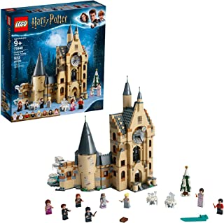 LEGO Harry Potter and The Goblet of Fire Hogwarts Clock Tower 75948 Harry Potter Gift and Playset with Minifigures Ron Weasley, Hermione Granger and more (922 Pieces)