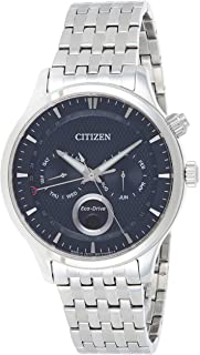 CITIZEN Mens Solar Powered Watch, Analog Display and Stainless Steel Strap AP1050-56L, CITIZEN