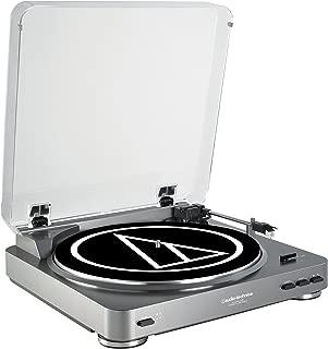 Audio-Technica ATLP60USB LP to USB Digital Belt Drive Turntable - (Silver)