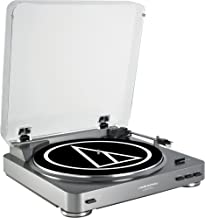 Audio-Technica ATLP60USB LP to USB Digital Belt Drive Turntable - (Silver)