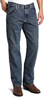 Wrangler Men's Big Rugged Wear Relaxed Straight-Fit Jean Jean