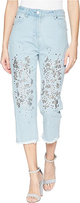Religion Dash Jeans in Light Blue