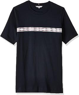 Tommy Hilfiger Women's Raven C-Neck Top Short Sleeve T-Shirt, Blue
