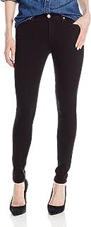 True Religion Women's Halle Midrise Skinny Jean In Jet Black