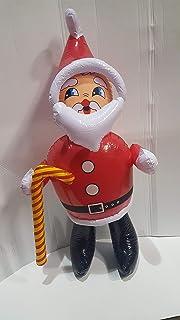 Tri Grande Hinchable Santa Claus / Papá Noel, Aprox 90cm En Altura Gran Diversión Decoración Navidad por Inflable Santa …