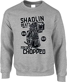 Tim And Ted Hip Hop Jumper Old School Boombox Rap Samurai Sweatshirt