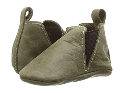 Freshly Picked Soft Sole Chelsea Boot (Infant/Toddler) (Fern) Kids Shoes