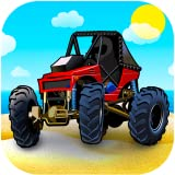 Cool beach buggy racing games: Driving down the speedway