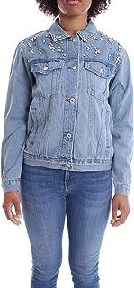 Luxury Fashion   Molly Bracken Women S3884P20DENIM Blue Cotton Jacket   Spring-summer 20