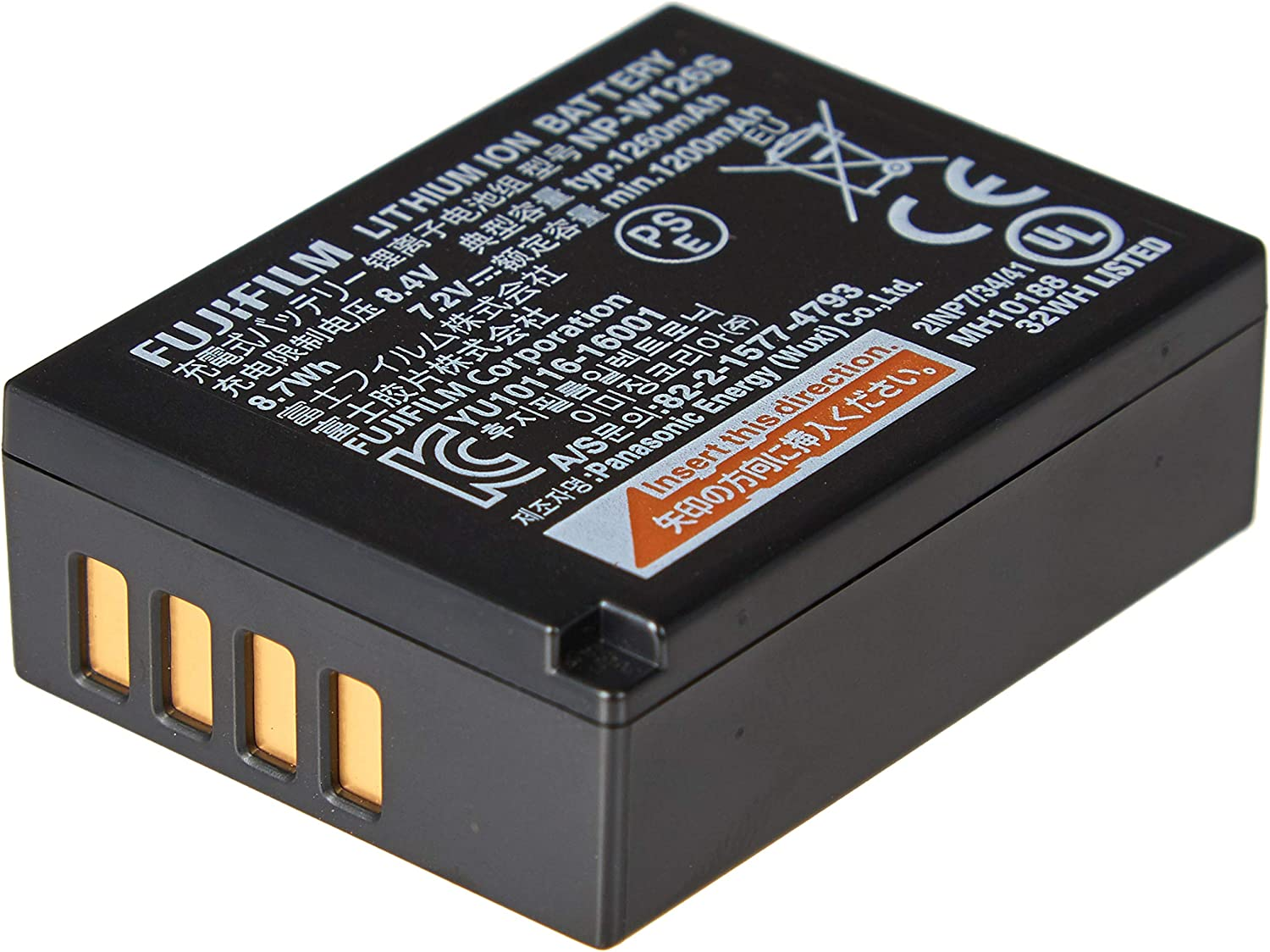 Fujifilm NP-W126S New York Mall Li-Ion 2021 spring and summer new Battery Rechargeable
