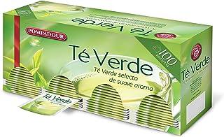 Pompadour Té Verde, Pack de 2 x 100 bolsitas