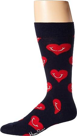 Smiley Heart Sock