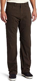 prAna Men's Bronson Pant, 32-Inch Inseam, Brown, 38