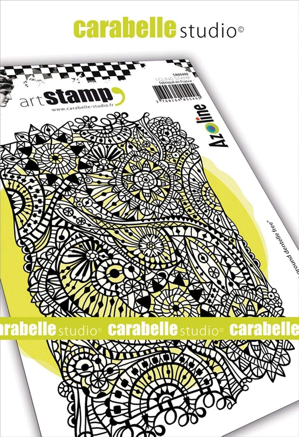 Carabelle Studio TE60072 Stencil Mask A6 Tricot Knitting