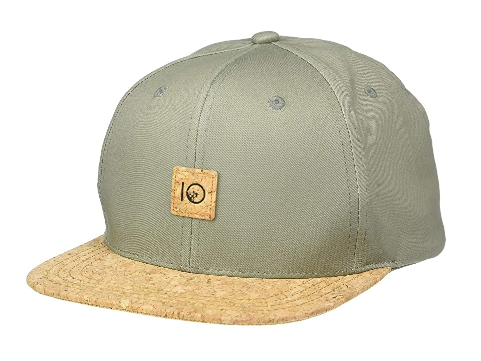 tentree Freeman Hat (Vetiver Green/Cork) Caps