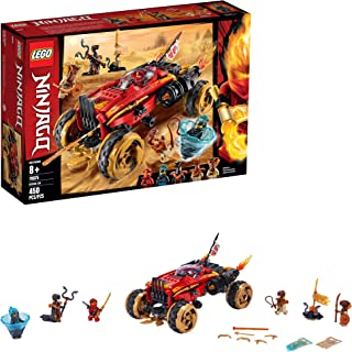 LEGO Ninjago Katana 4x4 70675 Building Kit, New 2019 (450 Pieces)