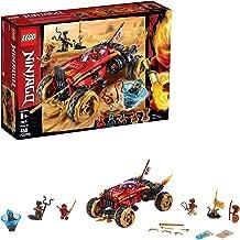 LEGO Ninjago Katana 4x4 70675 Building Kit, New 2019 (450 Pieces)