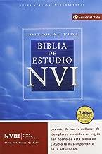 Biblia de estudio NVI (Spanish Edition)
