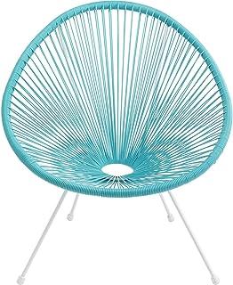 Silla de jardín Acapulco azul Kare Design