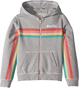 Rainbow Smile Zip-Up (Toddler/Little Kids/Big Kids)