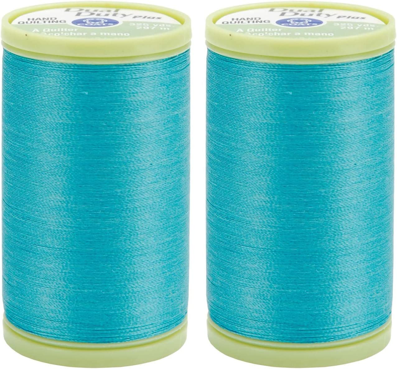 2-Pack famous Coats Clark Dual Clearance SALE Limited time Duty 325yd Plus Hand Thread Quilting