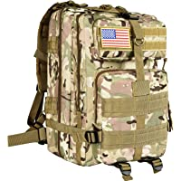 Cvlife Outdoor Tactical Backpack Military Rucksacks for Camping Hiking