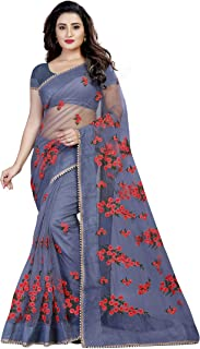 ccb3b369aed Net Women's Sarees: Buy Net Women's Sarees online at best prices in ...