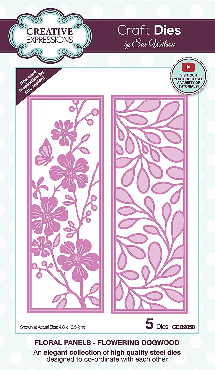 Creative Expressions Sue Outstanding Wilson - Panels Dogwood Craf Floral Financial sales sale
