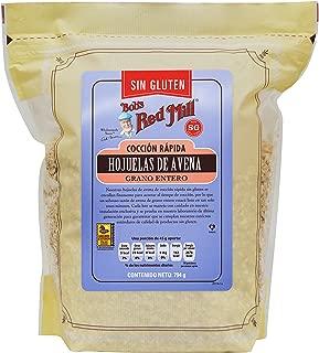 Bobs Red Mill, Hojuelas De Avena Rápida Cocción Sin Gluten, 907 Gr.