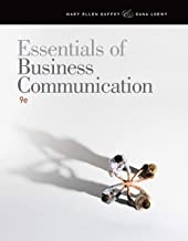 Guffey/Loewy's Essentials of Business Communication, 9th Edition plus 6-months instant access to Aplia.
