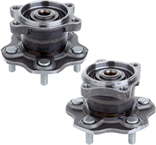 ECCPP Pair of 2 512201 Rear Wheel Hub Bearing Assembly fit for 2002-2006 Nissan Altima 2004-2008 Nissan Maxima 2004-2009 Nissan Quest 5 Lug w/ABS Left and Right