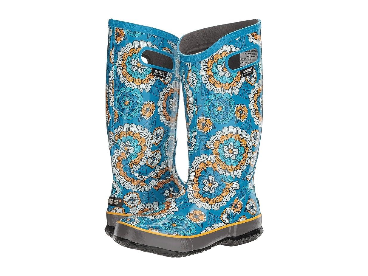 週末奨学金明るい[ボグス] レディース Rain Boot Pansies ミドルブーツ [並行輸入品]