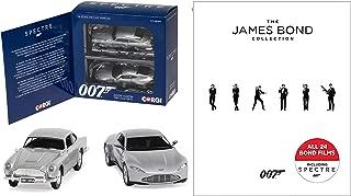 007: The James Bond Collection Blu-ray - Digital HD - Spectre Skyfall Quantum of Solace & Casino Royale + Sean Connery Gadget Car Goldfinger Aston Martin Set 24 Film Set Roger Moore Daniel Craig