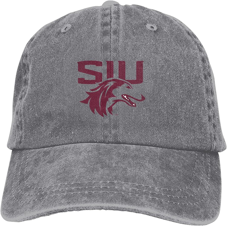 Ali Yee Southern Illinois University Carbondale Logo Trucker Cap Durable Baseball Cap,Adjustable Dad Hat Your Best Hat Gray