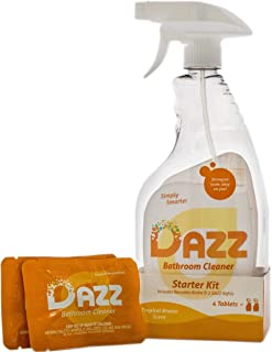 Dazz Natural Cleaning Tablets - Bathroom Cleaner Starter Kit