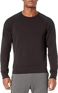 Peak Velocity Amazon Brand Men's Yoga Luxe Fleece Crew-Neck Sweatshirt
