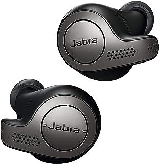 Jabra Elite 65t Earbuds - Passive Noise Cancelling Bluetooth Earphones med fyra mikrofoner för trådlösa samtal och musik -...
