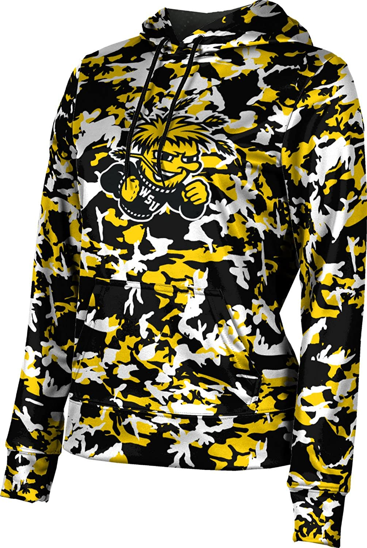ProSphere Wichita State University Girls' Pullover Hoodie, School Spirit Sweatshirt (Camo)