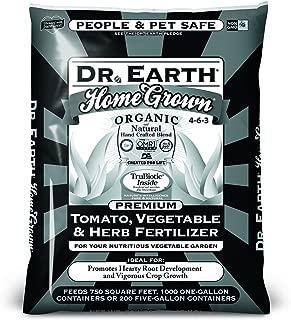 Dr. Earth Home Grown Tomato, Vegetable & Herb Fertilizer 50lb