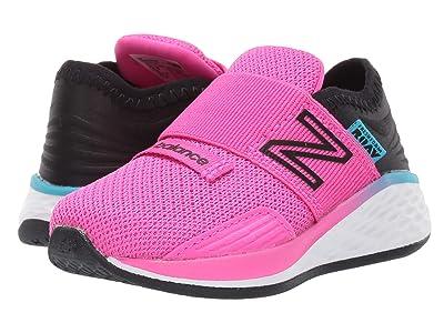 New Balance Kids Fresh Foam Roav Boundaries Hook and Loop (Infant/Toddler) (Peony/Black) Girls Shoes