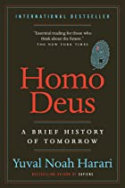 Cover image of Homo Deus by Yuval Noah Harari