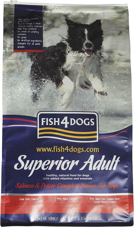 Fish4dogs Superior Adult Complete Regular Bite 6 Kg