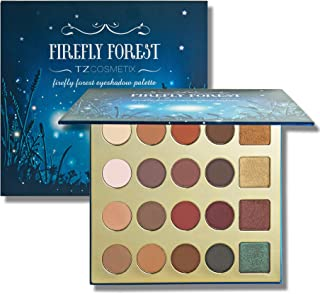 TZ COSMETIX - Firefly Forest Pro 20 Shade Clay Eyeshadow Palette - including Matte/Shimmer & Duochrome Colors eye shadow - Multicolour Makeup set yhc-20