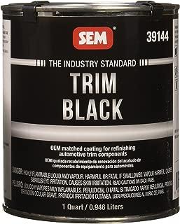 SEM 39144 Trim Black Aerosol - 1 Quart