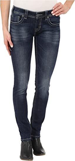 Rock and Roll Cowgirl - Low Rise Skinny in Dark Vintage W0S6442