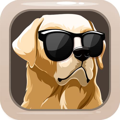 Labrador Dog Sticker Emojis - Gif Animated Keyboard App